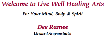 Welcome to Live Well Healing Arts